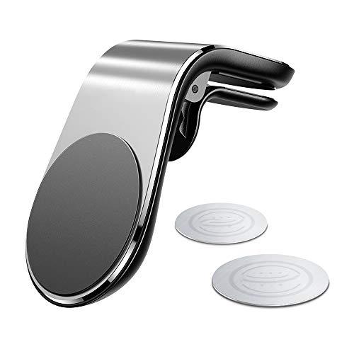 Magnetische Autotelefonhalterung 360-Grad-Drehung - Für iPhone Samsung Xiaomi Magnethalterung Autohalterung Für Handy Im Auto Handy Smartphone Ständer,Silver