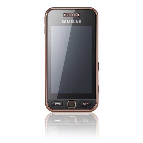 Samsung Mobile Samsung Star S5230 Smartphone (Touchscreen, 3MP Kamera, Video, MP3-Player, Bluetooth) black gold