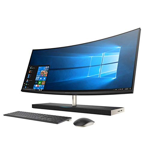 HP Premium AIO i7 8700T Bluetooth - HP Envy 34 Curved Premium All-in-One AIO Desktop (Intel 8th Gen i7-8700T 6-Core, 32GB RAM, 2TB HDD + 1TB Sata SSD, GeForce GTX 1050 4GB, 34 inch Curved QHD 3440 x 1440, WiFi, Bluetooth, Win 10 Home)