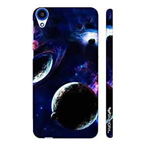 HTC Desire 820 To the Moon and Back designer mobile hard shell case by Enthopia