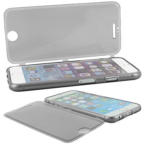 """ebestStar - pour Apple iPhone 6S 6 Plus écran 5,5"""" - Housse Etui Coque Silicone Gel Portefeuille + Stylet tactile, Couleur Violet [Dimensions PRECISES de votre appareil : 158.1 x 77.8 x 7.1 mm, écran  Noir"""