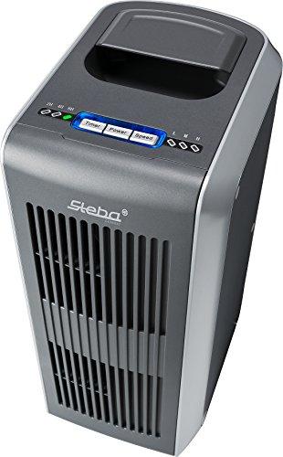 Steba purificador de aire con luz ultravioleta y TIO2Filtro contra virus y bacterias, 1pieza, plata, LR 11catal ytic