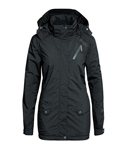 Maier Sports- Damen Freizeit Jacke in Schwarz oder Blau Artikel Carpegna (225719) Schwarz (900)