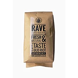 Rave Coffee – The Italian Job Blend – Freshly Roasted Whole Beans 1Kg