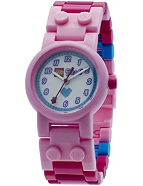 LEGO Unisex-Armbanduhr Friends Stephanie Analog Quarz Plastik 8020172