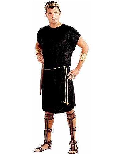 Forum Neuheiten F67216PL-XL X-Large Mens Black Tunika - Forum Neuheiten Kostüm