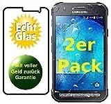 Smartphone-Equipment [2er Pack] Panzerglas für Samsung Galaxy Xcover 3 Echt-Hartglas 9H, Glasfolie Schutzfolie Glas Folie Panzerfolie Bildschirm Schutz
