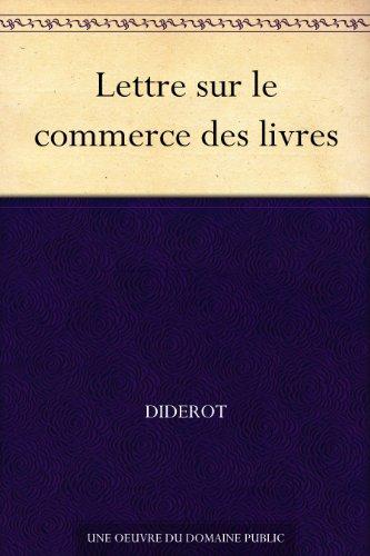 Lettre sur le commerce des livres (French Edition)