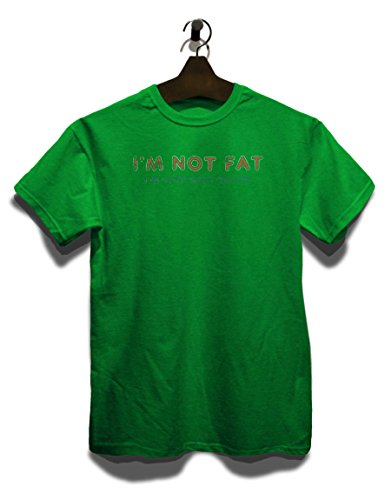 Im Not Fat Im Just Easy To See Vintage T-Shirt Grün