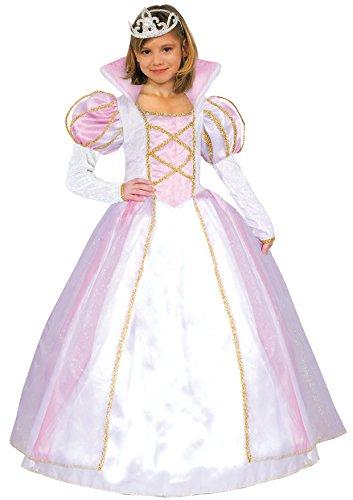 prezzi incredibili modellazione duratura autentica di fabbrica Dettagli su Ciao 10190 - Principessa Aurora Costume Bambina, 6-8 Anni,  Rosa/Bianco (T8I)