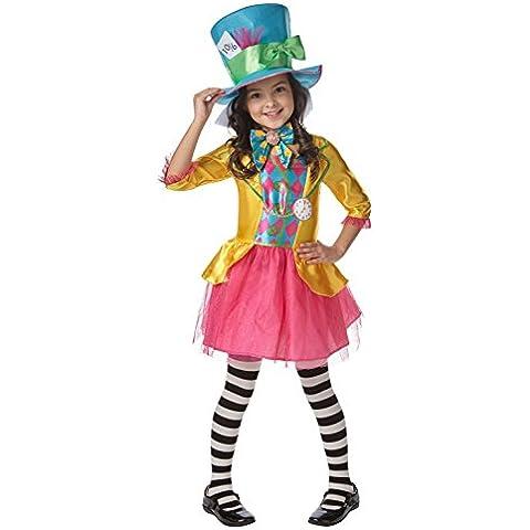 Rubie 's oficial de Disney Alicia en el país de las maravillas Mad Hatter Disfraces niñas Large