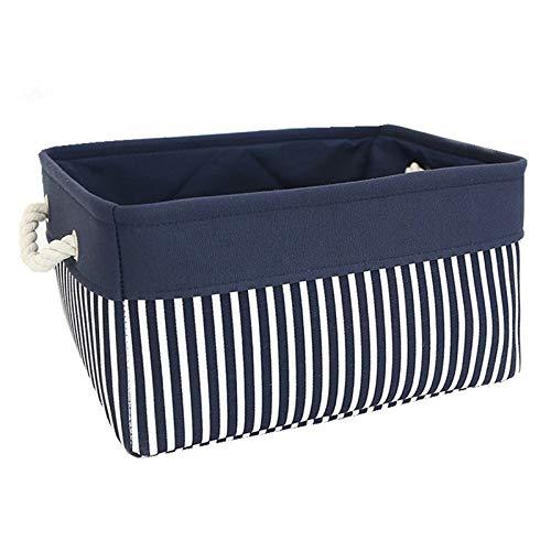 Shumo Stoff Nautisch Basket für Lagerung, Faltbare Segeltuch Lager Pl?TZE Container Organisieren Korb für Geschenke Leer, Regale, Schrank, Kinder Zimmer Baby Zimmer