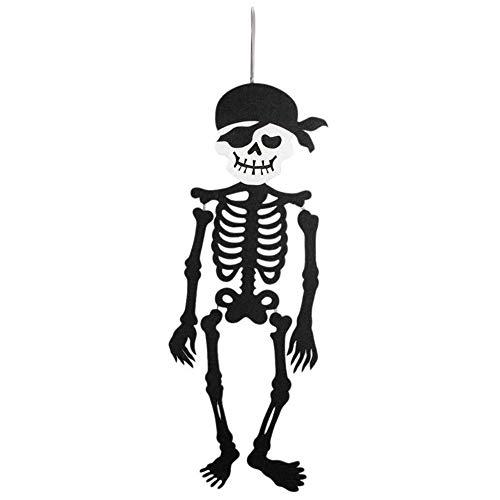 dekoration Hängender Geist Halloweens, Beängstigender Skelett Dekorations Partei Garten Tagesanhänger Halloween Props Dekoration ()
