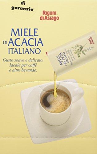 Miele Acacia Rigoni Dispenser Bustine 5 gr., Confezione da 100 bustine