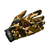 HCFKJ Winter Driving Riding Sport Biking Warm Gloves For Ski Mountaineering (M, COLOR)