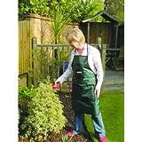 Bosmere G320, aus Polyester mit PVC-Beschichtung Gartenschürze mit 3 Taschen und verstellbarem Hüftgurt, Grün