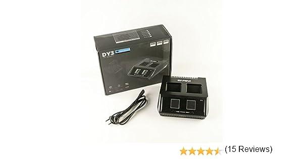 /Jusqu/à 2/batteries 70/W 6/Amp 2/CH/ EV Chargeur Peak Duo dy3/pour yuneec Typhoon H Batterie/ /1/click