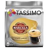 Tassimo - Capsulas marcilla café largo 16 bebidas novedad