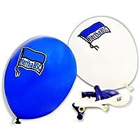 Luftballons Ballons Party blau und weiß (10 Stück) Hertha BSC Berlin