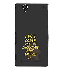 Love Quote 3D Hard Polycarbonate Designer Back Case Cover for Sony Xperia T2 Ultra :: Sony Xperia T2 Ultra Dual SIM D5322 :: Sony Xperia T2 Ultra XM50h