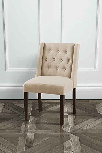 MY-Furniture - Wing Beige High Quality Upholstered Dining Chair - Huxley