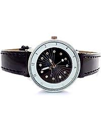 2e21c7a8ecd549 edle Damenuhr Designer Armbanduhr Damen Uhr mini Lady Watch Roman Black  U86-4