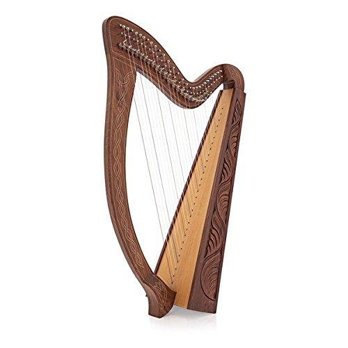 29-String Harfe mit Hebeln von Gear4music