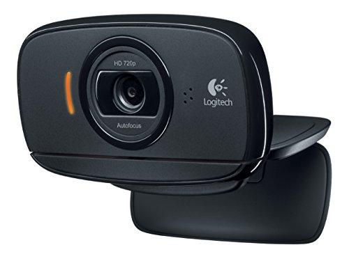 logitech c525 - webcam (1280 x 720 pixeles, 720p, 1280 x 720 pixeles, usb 2.0, negro, 1 ghz) (reacondicionado certificado)