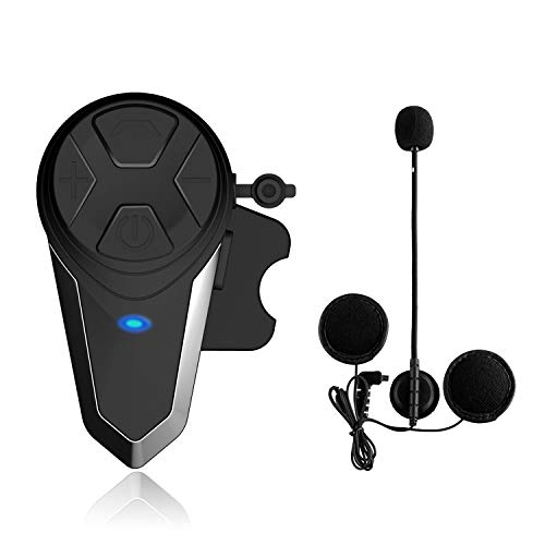 Lemnoi BT-S3 Intercomunicador Casco Moto, Intercomunicador Bluetooth