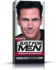 Just For Men Shampoo-in Hair Color for Men - Black, H-55