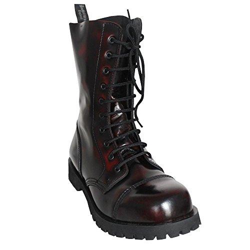 Boots & Braces 10-Loch (burgund) (D42/UK 8)