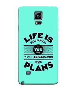Fuson Designer Back Case Cover for Samsung Galaxy Note 4 :: Samsung Galaxy Note 4 N910G :: Samsung Galaxy Note 4 N910F N910K/N910L/N910S N910C N910Fd N910Fq N910H N910G N910U N910W8 (100% honest love you forever )
