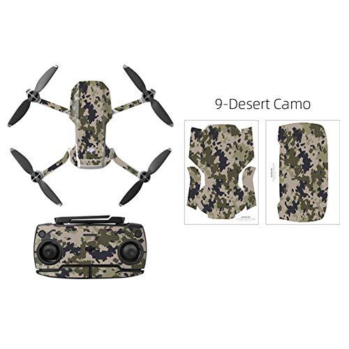 XuBa PVC-Aufkleber für DJ=I Mav=ic Mini Drohne Körper Arm und Controller Wasserdicht Anti-Kratzer Vollschutz Folie Camouflage