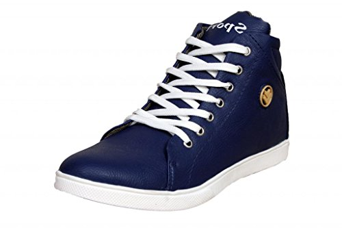 Sukun Men's Blue  Sneakers (PDW_601_BLUE_9) - 9 UK  available at amazon for Rs.400