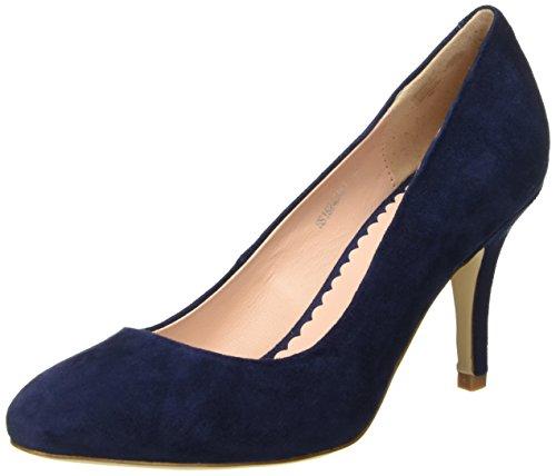 Tosca Blu Shoes TOPAZIO, Damen Pumps, Schwarz (BLU C30), 38 EU (Blu-leder-pumps)