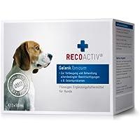 [Gesponsert]RECOACTIV Gelenk Tonicum für Hunde - Kurpackung 3x90 ml – getreidefrei – mit Grünlippmuschel (Glucosamin, Chondroitin), Teufelskralle, Weidenrinde & Schachtelhalm, Inhaltsstoffe in Humanqualität, deutsches Produkt