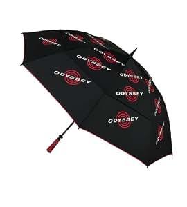 Callaway Odyssey Parapluie double Noir/rouge 162 cm