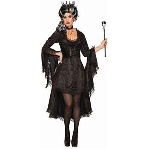 Forum Spitzen Kostüm - Forum Novelties AC80715 Böse Prinzessin Kostüm, Schwarz