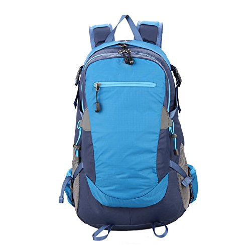 OGERT Esterna Viaggi Di Piacere Di Alpinismo Zaino Grande Capacità,Blue Blue