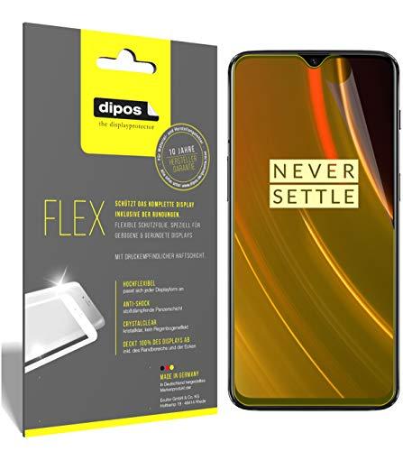 dipos I 3X Schutzfolie 100% passend für OnePlus 6T McLaren Edition Folie (Vollständige Bildschirmabdeckung) Bildschirmschutzfolie