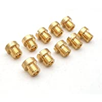 yunshuom6hilo 6mm principal JET Kit para Dellorto Carb 50525558606265687072, 10paquetes