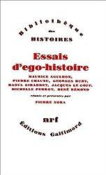Essais d'ego-histoire