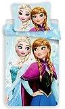 Disney Frozen Bettwäsche Eiskönigin Anne Elsa Kopfkissen Bettdecke 140x200