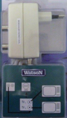 TV-Zweigeräteverstärker 2x 10dB, Netzteil 230V