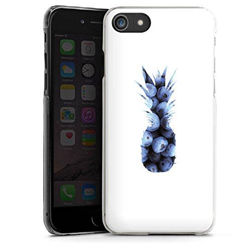 Apple iPhone 6 Silikon Hülle Case Schutzhülle Ananas Blaubeeren Muster Hard Case transparent