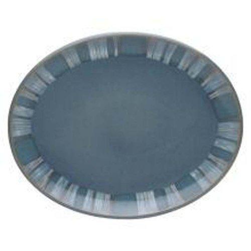Denby Azure Coast Oval Platter by Denby