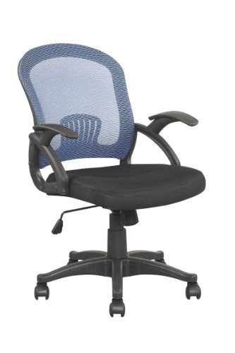 mesh-style-low-back-extra-padded-black-seat-office-chair-blue