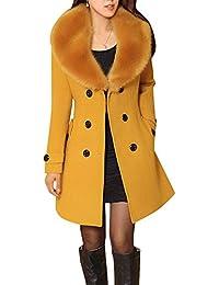 super popular 00b6e 459af Amazon.it: giacca gialla donna elegante - Cappotti / Giacche ...