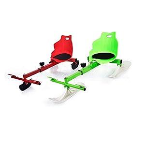 Gaozh Schlitten Schlittschuhlaufen Und Skifahren Rodel Für Kinder Winter Skifahren