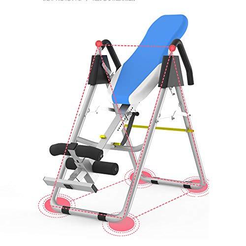 Einstellbare Inverted-Maschine, Halsstütze, Basis Anti-Rutsch-Gummi-Pad, for Fitness Besserer Kissen Flip Table, Massage-Behandlung Inverted-Maschine, Geeignet for Haus, Büro, Sporthalle, usw.